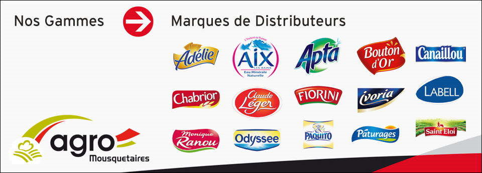 Nos Marques - Marques de Distributeurs